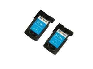 Superb Choice® Remanufactured Ink Cartridge for Canon PIXMA MP480 MP490 MP495 MP499 Ink Cartridge(Pack of 2 Tri-color)