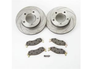 SSBC Performance Brakes A2370014 Turbo Slotted Rotors 00-01 RAM 1500 PICKUP