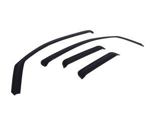 EGR 572655 SlimLine&#59; In-Channel WindowVisors&#59; Set of 4 Fits 09-15 1500 Ram 1500