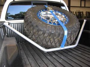 N-Fab T051TR Spare Tire Rack 05-13 Tacoma