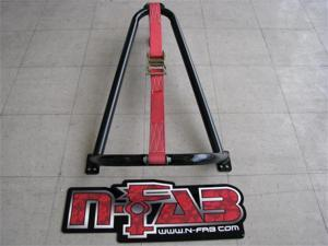 N-Fab BM1TCBK Bed Mounted Tire Carrier
