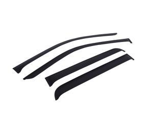EGR 643395 SlimLine&#59; Tape-On WindowVisors&#59; Set of 4 Fits 09-14 F-150