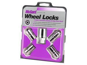 McGard 24215 Chrome Cone Seat Wheel Lock Set (M14 x 1.5)