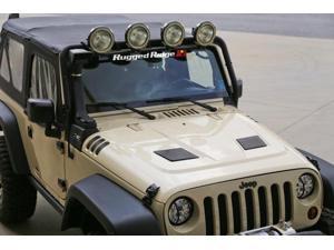 Rugged Ridge 17759.01 Performance Vented Hood 07-14 Jeep Wrangler