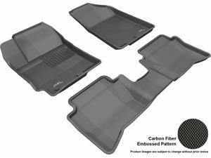 MAXpider L1KA01401509 Kagu Floor Mat Front Rear Black for KIA RIO/RIO5
