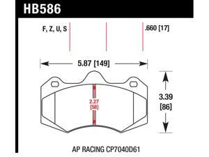 Hawk Performance HB586Z.660 Disc Brake Pad