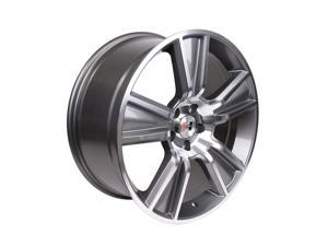 Hurst 800202 Stunner Wheel 20x9 Machine Face, Anthracite Accent&#59; 5x114.3, +32mm