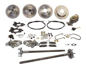 SSBC Performance Brakes A112-2 Standard Drum To Disc Brake Kit 87-92 MUSTANG