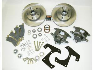 SSBC Performance Brakes A148-18 Drum To Disc Brake Conversion Kit 48-56 F SERIES