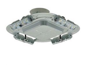 Cooper Lumark QDCAST1A 56W LED Parking Garage Canopy Fixture