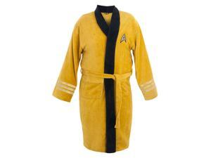 Star Trek Original Series Kirk Cotton Bathrobe, Adult