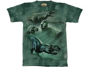 The Mountain Dinosaur Collage TShirt Youth