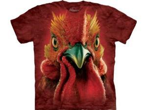 The Mountain Men's Rooster Head Tshirt