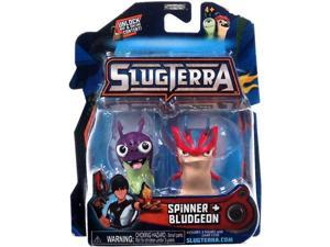 Slugterra Mini Figure 2-Pack Spinner & Bludgeon [Includes Code for Exclusive Game Items]
