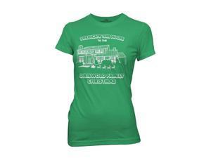 National Lampoon Christmas Vacation I Dedicate This House Juniors Tshirt