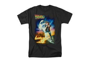 Back To The Future Poster Mens Short Sleeve Shirt