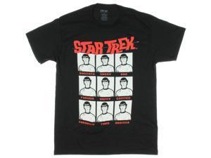 Star Trek Men's Spock Moods T-Shirt