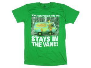 Scooby Doo What Happens in the Van Stays in the Van Graphic T-Shirt