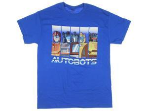 Transformers Men's Autobots Panels T-Shirt