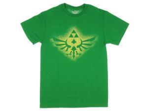Nintendo Legend of Zelda Soaring Triforce Mens Graphic T-Shirt