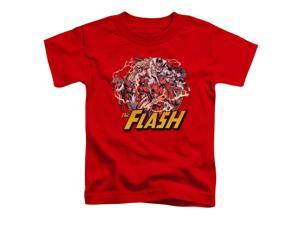 Justice League Flash Family Little Boys Shirt