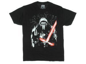 Star Wars VII: The Force Awakens Kylo Ren Painted Galaxy Men's T-Shirt