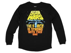 Star Wars The Force Is Strong With This One Thermal Graphic T-Shirt