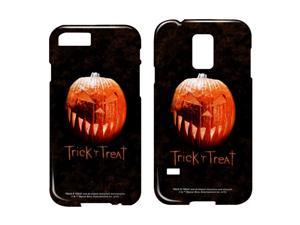 Trick R Treat Pumpkin Smartphone Case Barely There (Samsung Galaxy S5) White Sgs5