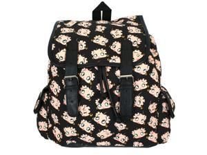 Betty Boop Faces All Over Print Flap Sling Backpack