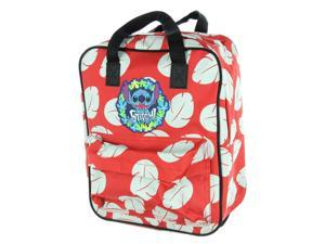 Loungefly Disney Lilo & Stitch Floral Mini Briefcase Backpack