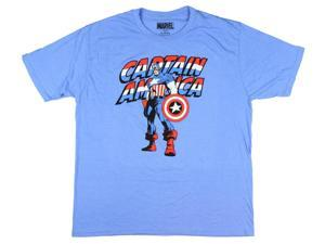 Marvel Comics Captain America Civil War Vintage Graphic T-Shirt