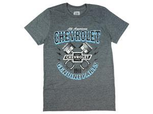 Chevy All American Chevrolet Genuine Parts Graphic T-Shirt
