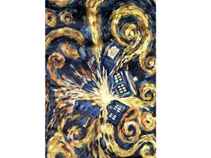 "Doctor Who Exploding Tardis 30"" X 60"" Beach Towel"