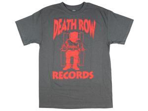 Ripple Junction Death Row Records Red Logo Adult T-Shirt