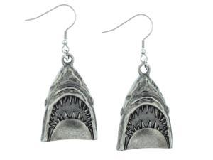 Rock Rebel Jaws Head Earrings