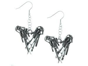 "Rock Rebel Edward Scissorhands ""Hands"" Earrings"