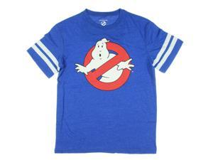 Ghostbusters Logo Slimer Hockey Licensed Graphic T-Shirt