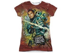 Suicide Squad Slipknot Psychedelic Cartoon (FB Print) Juniors Sublimation Shirt
