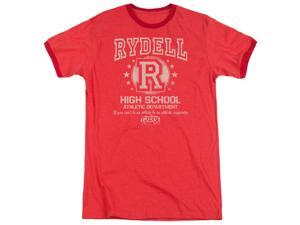 Grease Rydell High Mens Adult Heather Ringer Shirt