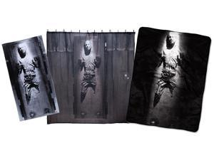 Star Wars Han Solo Carbonite Ultimate Gift Set Plush Throw, Beach Towel And Shower Curtain