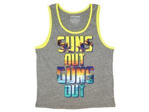 """Fifth Sun Mens' """"Suns Out Guns Out"""" Graphic Tank Top"""