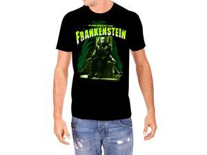 Universal Monsters Mens Electric Chair Frankenstein T-Shirt