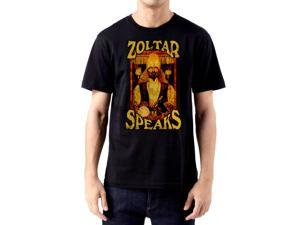 Big: The Movie Zoltar Speaks Men's Poster T-Shirt Black
