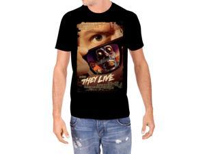 They Live Poster Men's T-shirt Black