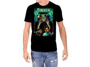 Universal Monsters Frankenstein In Color Men's T-Shirt
