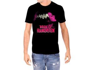 Pink Bride of Frankenstein Mens T-Shirt