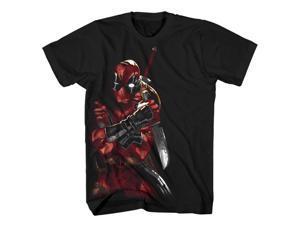 Marvel Comics Deadpool Merculese Men's T-Shirt