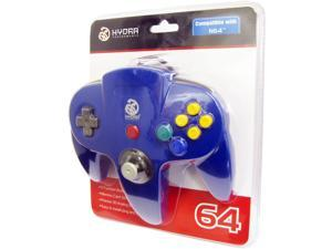 Hydra Performance N64 Controller Compatible for Nintendo 64 - Blue