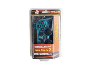 Hydra Performance® Wireless Controller 2.4G Clear Blue Compatible with Sony Playstation 2 PS2