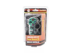 Hydra Performance® Wireless Controller 2.4G Clear White Compatible with Sony Playstation 2 PS2